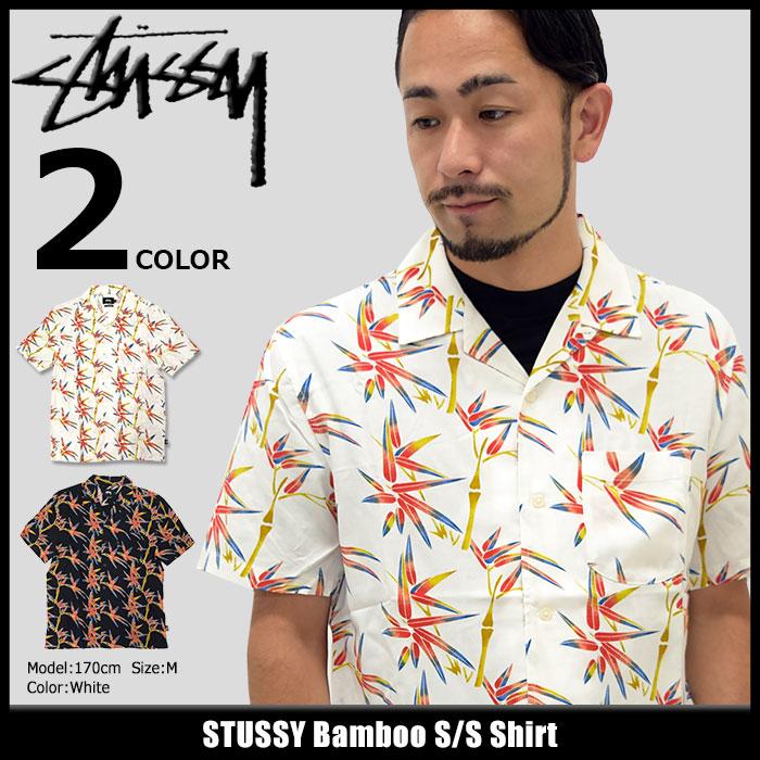 ステューシー STUSSY シャツ 半袖 メンズ Bamboo(stussy shirt カジュアルシャツ トップス メンズ・男性用 111928 USAモデル 正規 品 ストゥーシー スチューシー)