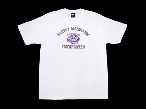 STUSSY (ステューシー) X MAD HECTIC X UNDEFEATED SMU S S Tee triple collaboration  (for the stussy tee T-shirt T-SHIRTS top men man) ice filed icefield f7f364b33