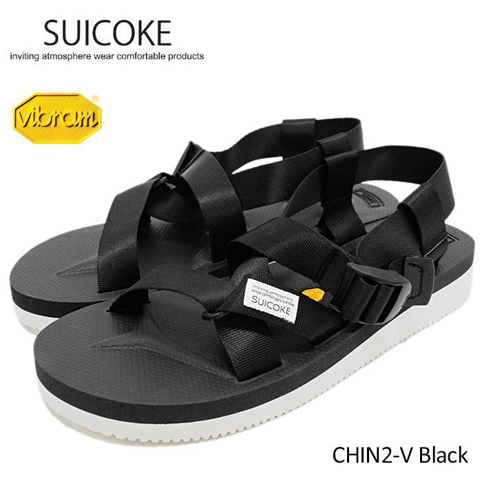 7f1f650ac9d3 ice field  CHIN2-V Black(suicoke CHIN2-V vibram vibram sole sports ...