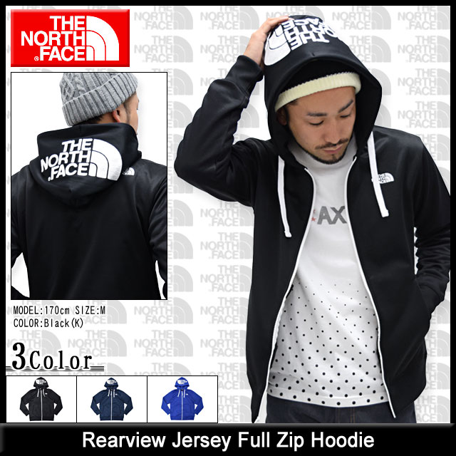 ... The north face THE NORTH FACE rear view Jersey zip up Hoodie ( quot  north ... 21901078e