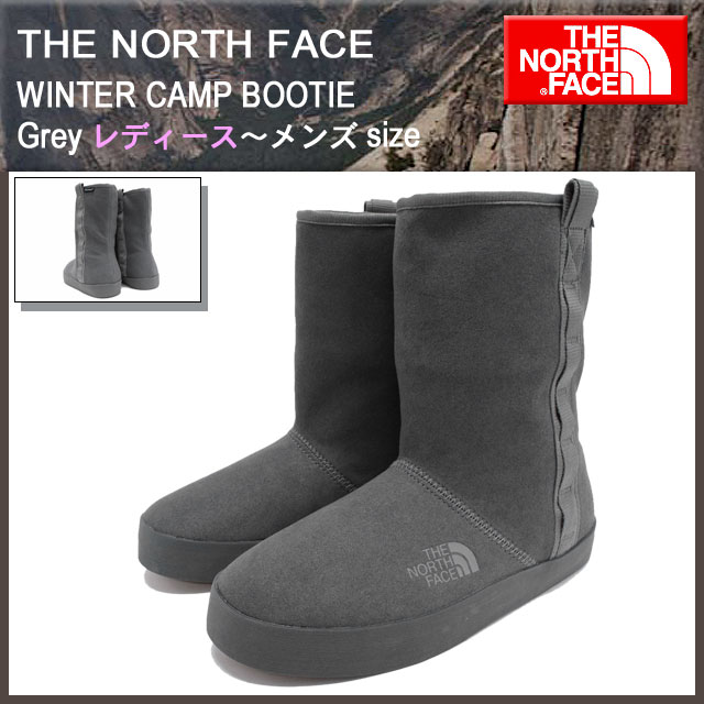 2cddd84c3 The north face THE NORTH FACE boots women's & men's winter camp Bootie grey  (the north face WINTER CAMP BOOTIE Grey pick water waterproof rain shoes ...