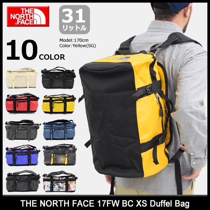 ザ ノースフェイス THE NORTH FACE ダッフル バッグ 17FW BC XS(17FW BC XS Duffel Bag リュック バックパック Daypack デイパック 普段使い 通勤 通学 旅行 メンズ レディース ユニセックス NM81771 ザ・ノース・フェイス)