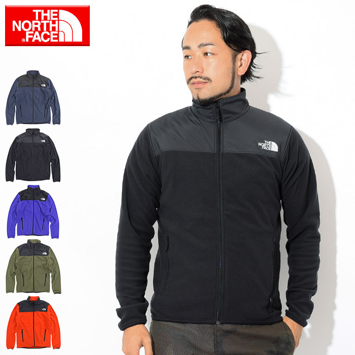 The North face THE NORTH FACE mountain decorative collar micro jacket (the north face Mountain Versa Micro JKT JACKET JAKET men MENS the north face