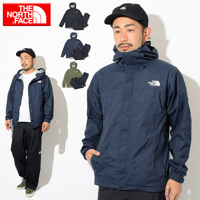 7055d06ca The North Face THE NORTH FACE rainwear men high vent rain tex rainsuit  (Hyvent Raintex Rainsuit top and bottom setup JACKET outer rain outfit rain  ...