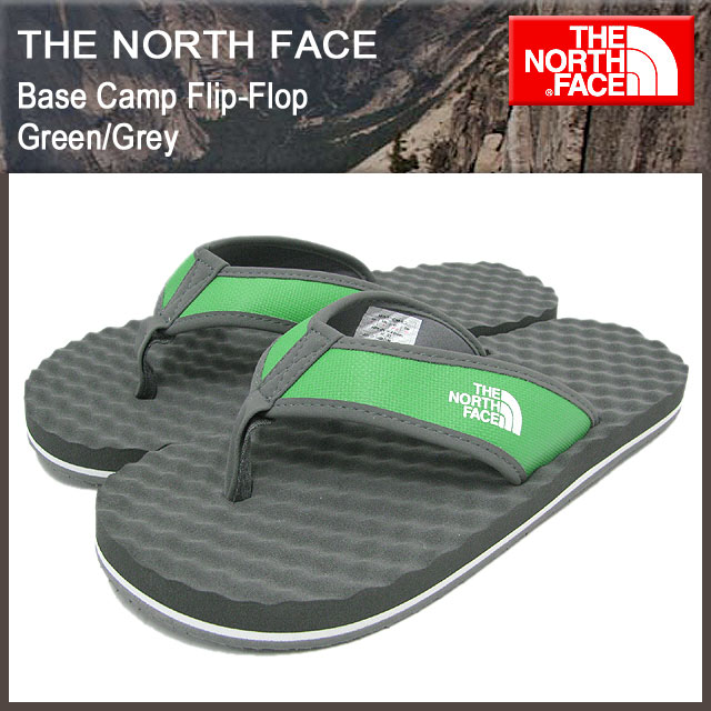 3f2879742 The north face THE NORTH FACE base camp flip flop green / grey mens (the  north face BASE CAMP Flip-Flop Green/Grey sandal SANDAL for men NF70959-TG  ...