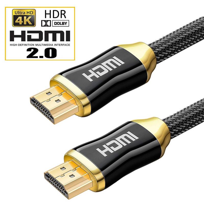 HDMIケーブル ハイスピードHDMIケーブル 1メートル HDMI2.0ver 3840x2160P 4K高解像度対応 HDR対応 18gbps高速伝送 ホームシアター PS4 PC XBOX Switch Blue-Ray動作確認済み