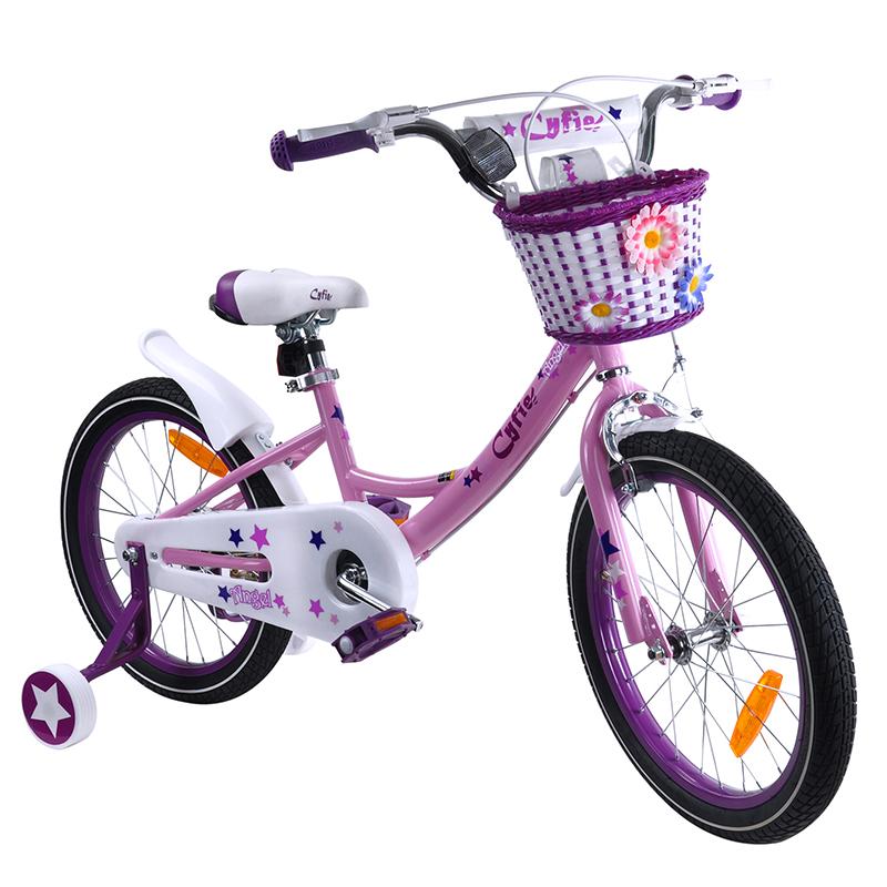 子供自転車  自転車 お姫様気分 森ガール イギリス風 可愛い クリスマス お誕生日 プレゼント 幼児 小学生 補助輪付き カゴ付き 組み立て式