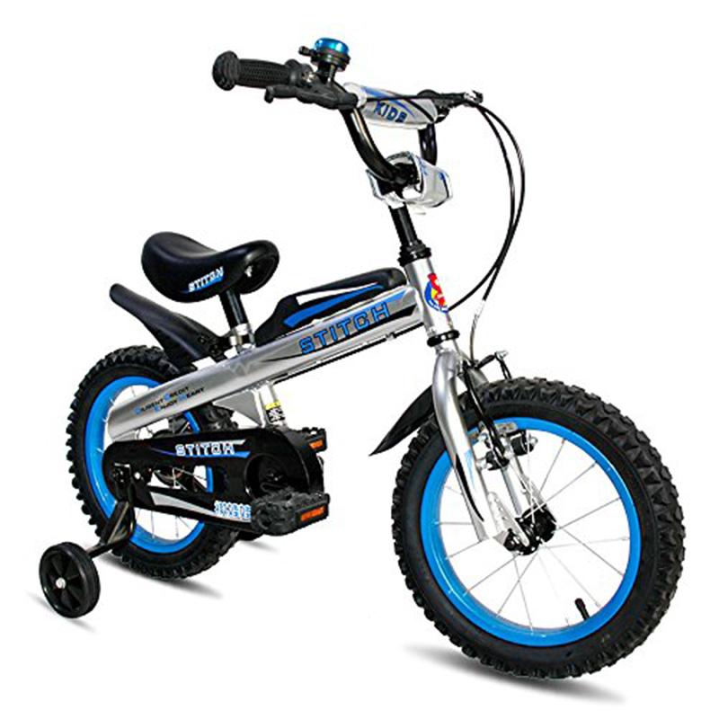 子供用自転車 ナイト Cyfie 泥除け付き 補助輪付き 滑り止めハンドル付き 格好いい 簡単に安装 安全 丈夫 二つブレーキ 二つサドル