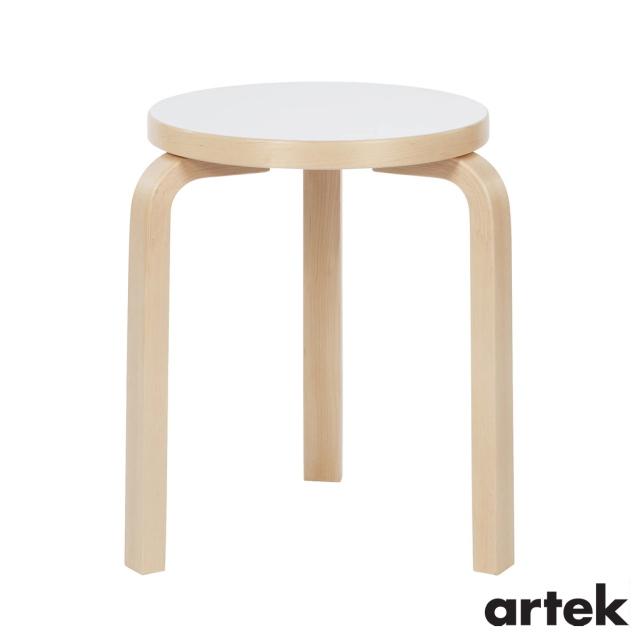 送料無料 注文後の変更キャンセル返品 ARTEK アルテック スツール60 Stool60 3本脚 贈与 ホワイトラミネート 椅子