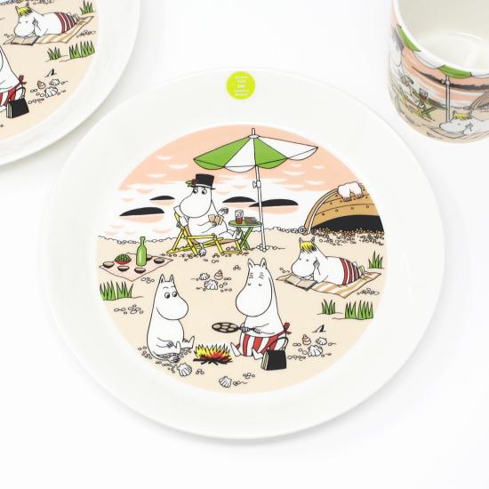 北欧 食器 お皿 陶器 ARABIA アラビア 2021S プレート トゥギャザー 10%OFF 19cm 別倉庫からの配送 ムーミン