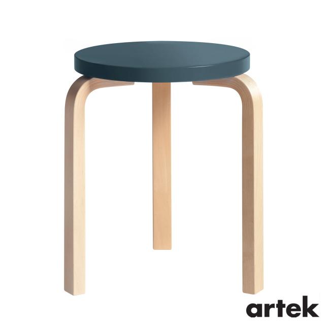 永遠の定番モデル 商舗 送料無料 ARTEK アルテック スツール60 椅子 3本脚 ブルー パイミオカラー Stool60
