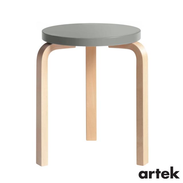 送料無料 ARTEK アルテック スツール60 商品 椅子 3本脚 Stool60 パイミオカラー グレー 一部予約