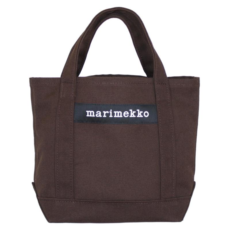 送料無料 marimekko マリメッコ トートバッグ SEIDI 89 ブラウン 超美品再入荷品質至上 日本限定色 期間限定送料無料 No.888