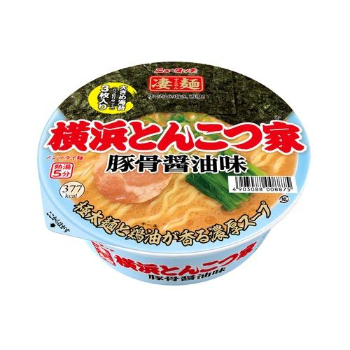 ニュータッチ 凄麺 横浜とんこつ家 1箱 12個入り 売店 カップ麺 ノンフライ !超美品再入荷品質至上! 横浜 1ケース 12個