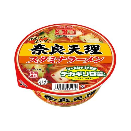 ニュータッチ 凄麺 商い 奈良天理 スタミナラーメン 1箱 12個入り 商品 カップ麺 ノンフライ 奈良 12個 1ケース
