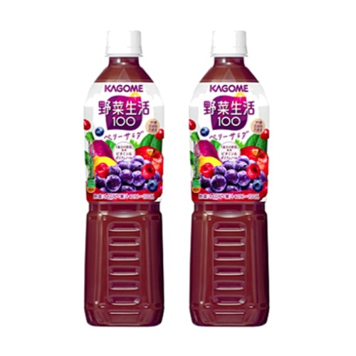 カゴメ 野菜生活100ベリーサラダ 1ケース15本 卓抜 720mlPET 保障