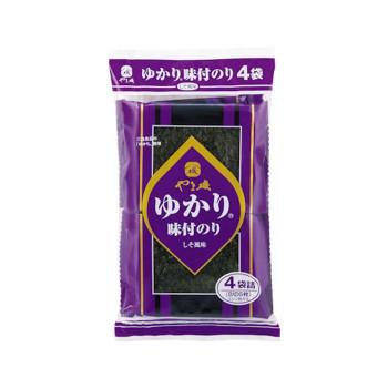 やま磯 ゆかり味のり4袋R 4袋詰(8切6枚)×40個セット【同梱・代引き不可】