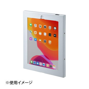受賞店 お求めやすく価格改定 10.2インチiPad用アクリルケース 10.2iPadVESA対応ボックス CR-LAIPAD15W 代引き不可 同梱