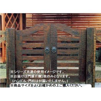 ウッド門扉 扇2型 本体 0612 35264【同梱・代引き不可】