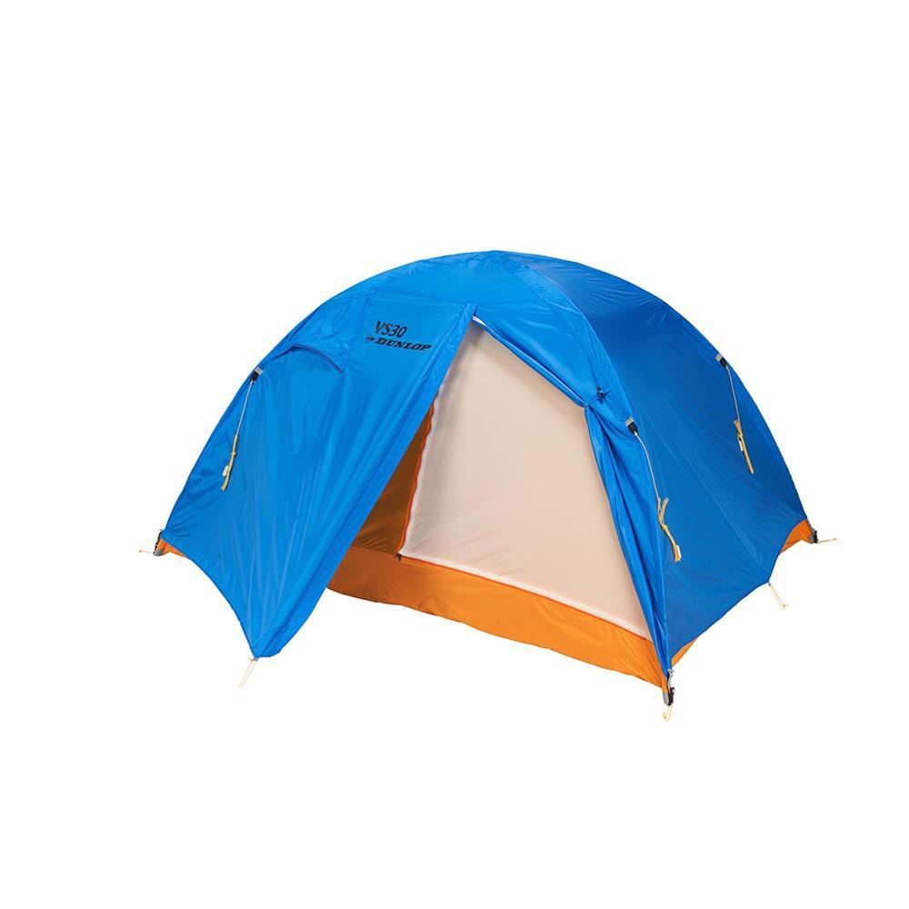 VS-Series コンパクト登山テント 3人用 ブルー VS-30【同梱・代引き不可】