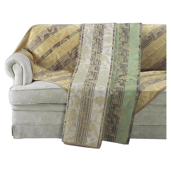 HV1415S 川島織物セルコン 花とストライプ マルチカバー 200×290【同梱・代引き不可】
