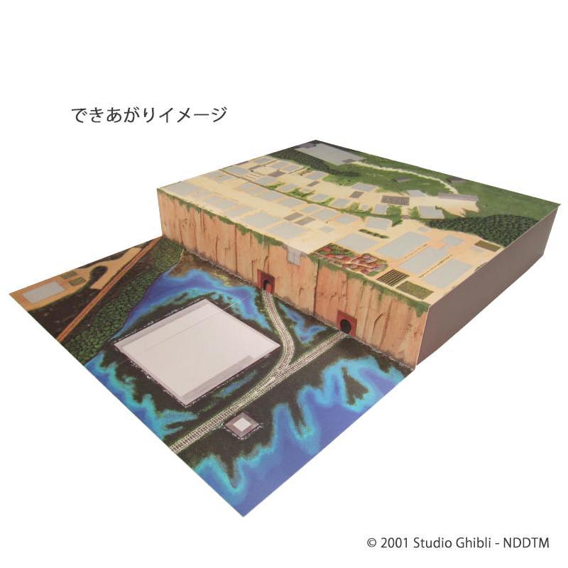 みにちゅあーとキット スタジオジブリ作品シリーズ 不思議の町ジオラマ MK07-32【同梱・代引き不可】
