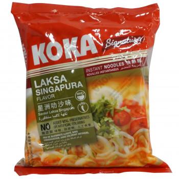 シンガポールで人気のココナッツカレーヌードル コカ インスタント麺 ココナッツカレーラクサヌードル 90g 30袋セット 260【同梱・代引き不可】