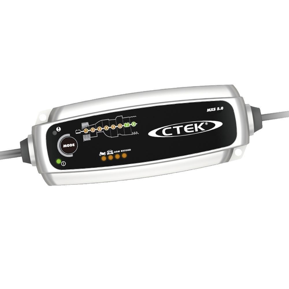 CTEKバッテリーチャージャー MXS5.0JP WCMXS50JP【同梱・代引き不可】
