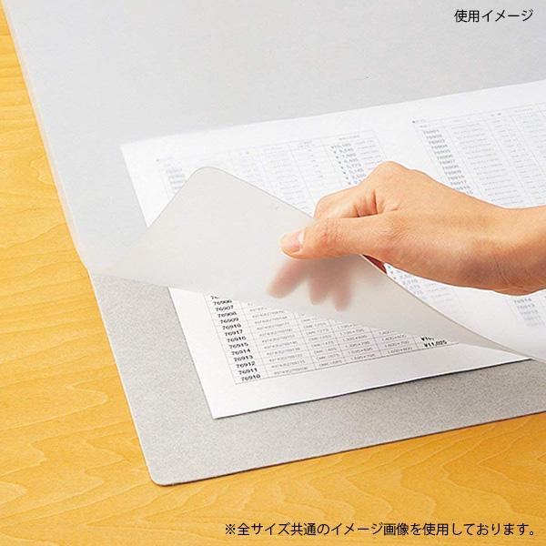 Shachihata シヤチハタ デスクマットEM(エコス) ダブル 1595×695mm DMA-167WE【同梱・代引き不可】