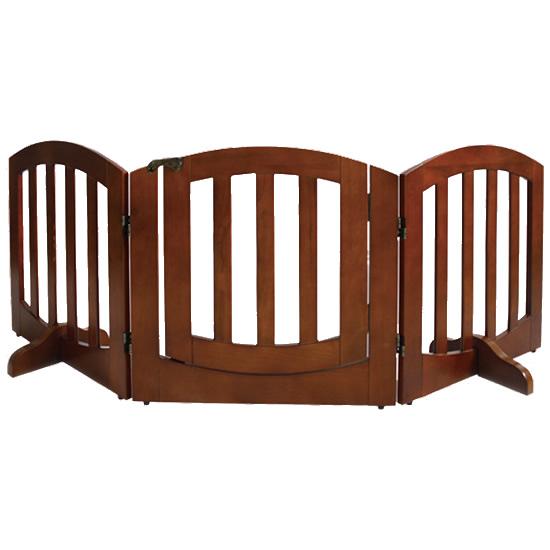 SIMPLY+ WOODEN GATE 木製ゲート シンプリーシールド ラグジュアリー 3パネル(ドア付き) FWW-3Panels【同梱・代引き不可】