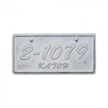 アメリカンな表札 激安セール アルミ鋳物表札 大幅にプライスダウン ジャーニー 同梱 代引き不可 CA-111