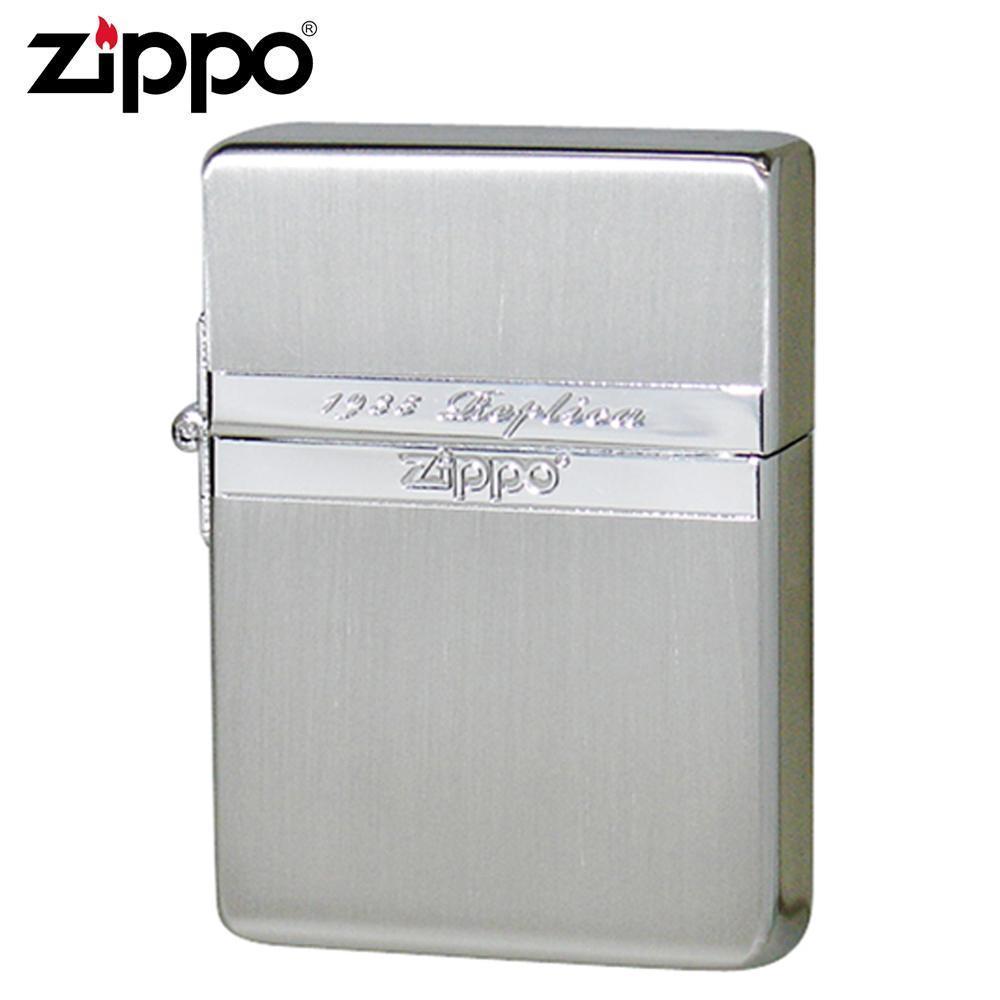 ZIPPO(ジッポー) オイルライター 1935ミラーラインSV【同梱・代引き不可】