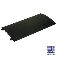 JEFCOMジェフコム ケーブルプロテクター ジョイントプロテクター(直線連結タイプ・簡易型) 830×435×37mm JTP-4430【同梱・代引き不可】