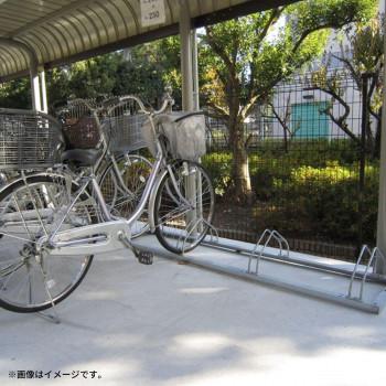 ダイケン 自転車ラック サイクルスタンド 低位用のみ 4台用 CS-ML4【同梱・代引き不可】