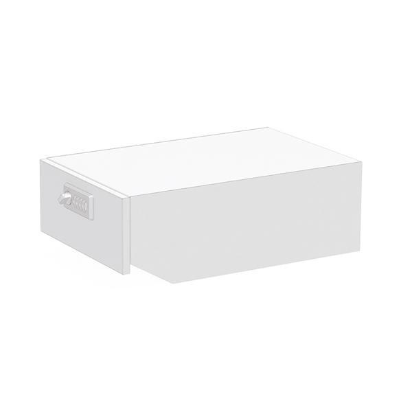 ぶんぶく マイナンバー専用回収ボックス ネオホワイト KIM-S-MN-NW【同梱・代引き不可】