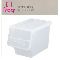 froq フロック 収納ケース スリム30 クリア 8個組 fr-S30CL【同梱・代引き不可】