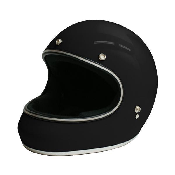 ダムトラックス(DAMMTRAX) アキラ ヘルメット BLACK L【同梱・代引き不可】