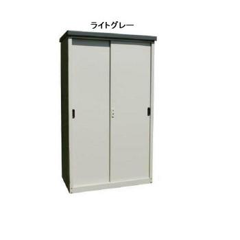 組み立て式 縦仕切り型物置 ハーフタイプ AD-9255【同梱・代引き不可】