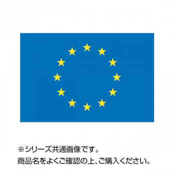 世界の国旗 万国旗 EU 140×210cm【同梱・代引き不可】