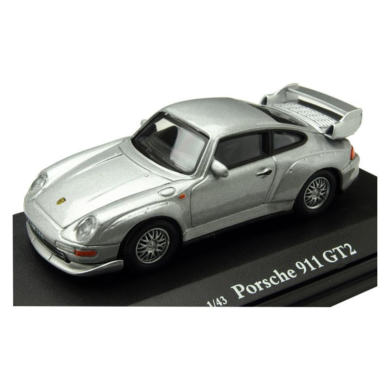 Cararama/カララマ ポルシェ 911 GT2 シルバー 1/43スケール 4-30240【同梱・代引き不可】