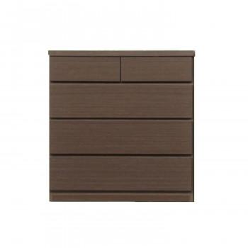 奥行30cmの薄型チェスト 幅75cm・4段【同梱・代引き不可】