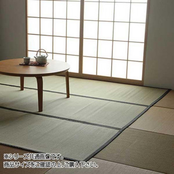 い草上敷きカーペット 双目織 三六間6畳(約273×364cm) 1101846【同梱・代引き不可】