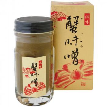 伝統の味 かにみそ マルヨ食品 人気海外一番 滋味 蟹味噌 瓶 80g×40個 同梱 箱入 代引き不可 01023 期間限定で特別価格