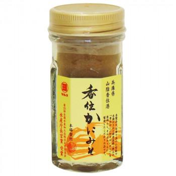 伝統の味 かにみそ マルヨ食品 香住蟹みそ 高額売筋 瓶詰 お歳暮 01050 代引き不可 60g×48個 同梱