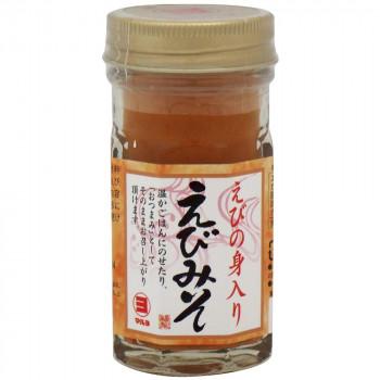 伝統の味、えびみそ マルヨ食品 えびの身入りえびみそ 60g×48個 04180【同梱・代引き不可】
