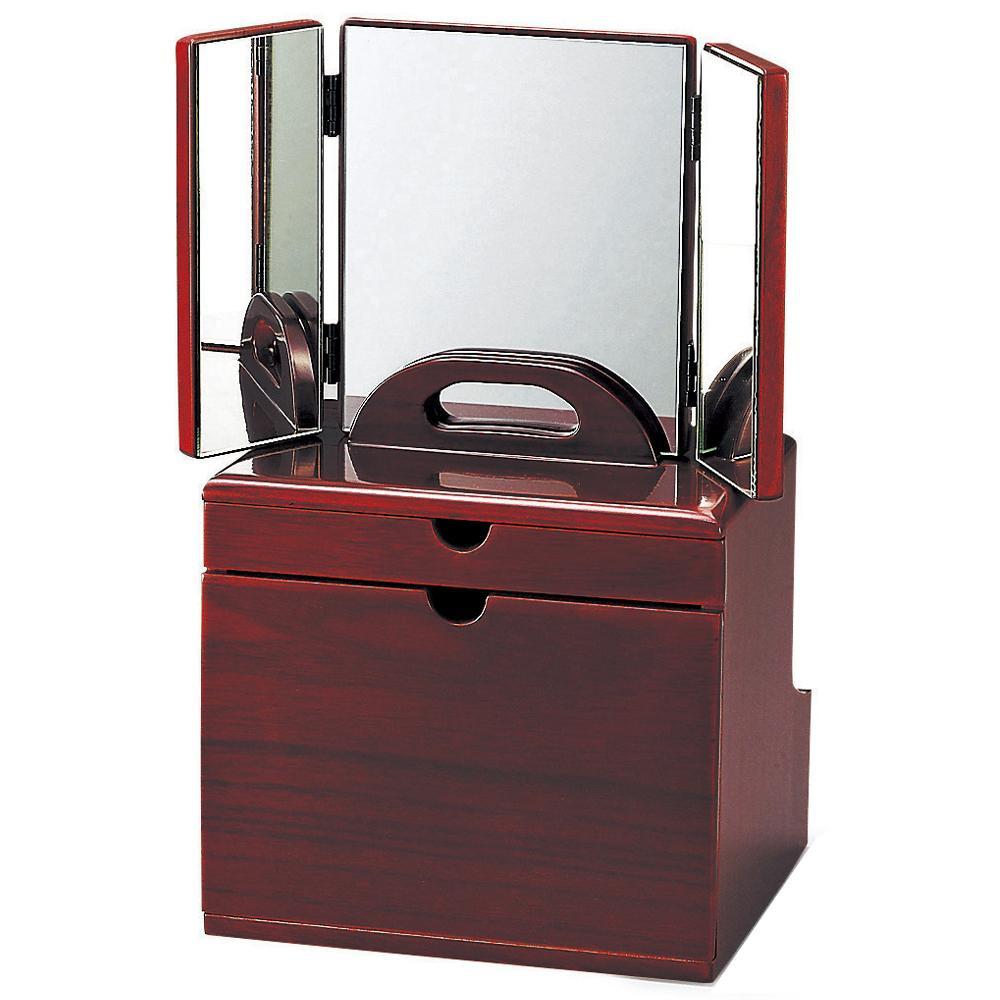 東出漆器 DXセパレートコスメ(三面鏡) 6780【同梱・代引き不可】