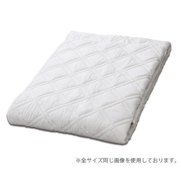 SUYA-LAB ウールベッドパッド SU3920 S 100×200cm ホワイト 22411-86612/993(WH)【同梱・代引き不可】