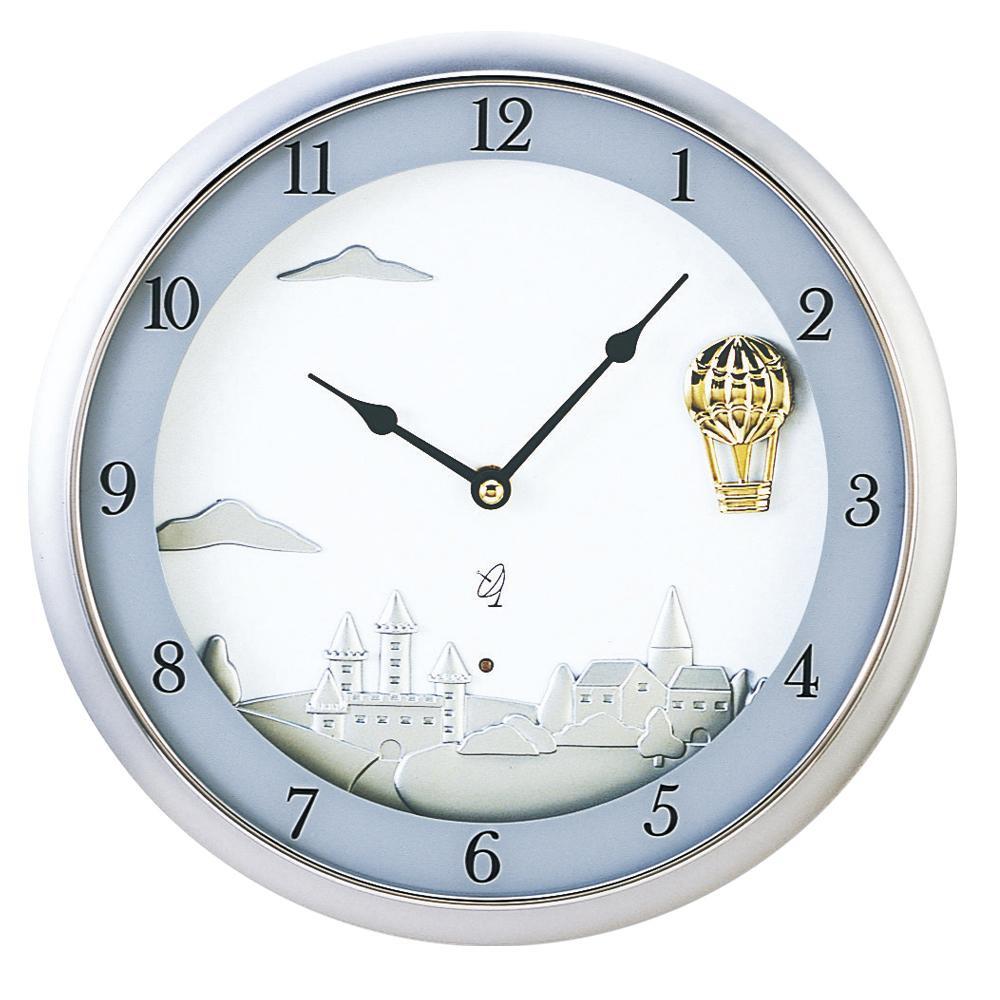 東出漆器 電波時計スイングドリーム 1315【同梱・代引き不可】