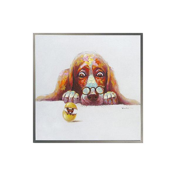 ユーパワー オイル ペイント アート「エッグ ドッグ」 OP-25055【同梱・代引き不可】