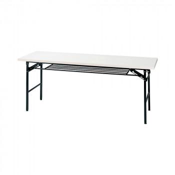 オフィス家具 ミーティングテーブル ハイタイプ 180×60×70cm ホワイト KM1860T-W【同梱・代引き不可】